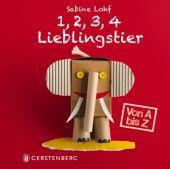 1,2,3,4 Lieblingstier, Lohf, Sabine, Gerstenberg Verlag GmbH & Co.KG, EAN/ISBN-13: 9783836958950