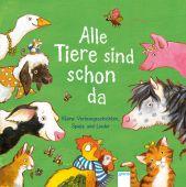 Alle Tiere sind schon da, Bergmann, Barbara/Grimm, Sandra/Jaekel, Franziska, Arena Verlag, EAN/ISBN-13: 9783401713892