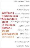 'Alles andere steht in meinem Roman', Hildesheimer, Wolfgang, Suhrkamp, EAN/ISBN-13: 9783518427699