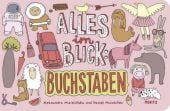 Alles im Blick: Buchstaben, Mizielinska, Aleksandra/Mizielinski, Daniel, Moritz Verlag, EAN/ISBN-13: 9783895652974
