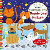 Babys Fingerspuren-Buch: Hunde und Katzen, Watt, Fiona, Usborne Verlag, EAN/ISBN-13: 9781782324584