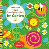 Babys Fingerspuren-Buch: Im Garten, Watt, Fiona, Usborne Verlag, EAN/ISBN-13: 9781782325512