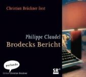Brodecks Bericht, Claudel, Philippe, Parlando GmbH, EAN/ISBN-13: 9783941004023