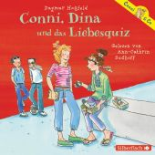Conni, Dina und das Liebesquiz, Hoßfeld, Dagmar, Silberfisch, EAN/ISBN-13: 9783867421638