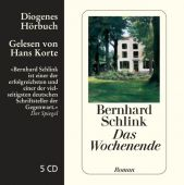 Das Wochenende, Schlink, Bernhard, Diogenes Verlag AG, EAN/ISBN-13: 9783257801996