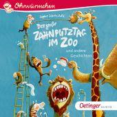 Der große Zahnputztag im Zoo, Schoenwald, Sophie, Oetinger Media GmbH, EAN/ISBN-13: 9783837311259