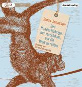 Der Hundertjährige, der zurückkam, um die Welt zu retten, Jonasson, Jonas, Der Hörverlag, EAN/ISBN-13: 9783844537093