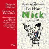 Der kleine Nick ganz groß, Goscinny, René/Sempé, Diogenes Verlag AG, EAN/ISBN-13: 9783257801637