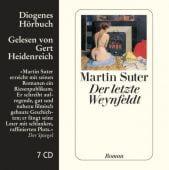 Der letzte Weynfeldt, Suter, Martin, Diogenes Verlag AG, EAN/ISBN-13: 9783257802009