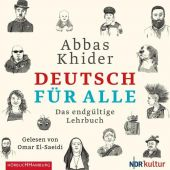 Deutsch für alle, Khider, Abbas, Hörbuch Hamburg, EAN/ISBN-13: 9783957131669