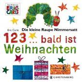 Die kleine Raupe Nimmersatt - 1,2,3 bald ist Weihnachten, Carle, Eric, EAN/ISBN-13: 9783836959292
