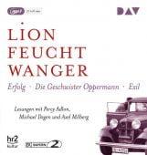 Die 'Wartesaal'-Trilogie. Erfolg - Die Geschwister Oppermann - Exil, Feuchtwanger, Lion, EAN/ISBN-13: 9783742406392