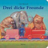 Drei dicke Freunde, Wormell, Chris, Moritz Verlag, EAN/ISBN-13: 9783895652141