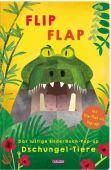 FLIP FLAP Das lustige Bilderbuch-Pop-up 'Dschungel-Tiere', Carlsen Verlag GmbH, EAN/ISBN-13: 9783551519450