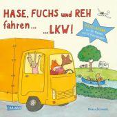 Hase, Fuchs und Reh fahren ... LKW!, Schnabel, Dunja, Carlsen Verlag GmbH, EAN/ISBN-13: 9783551171009