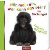 Hör mal rein, wer kann das sein? Im Dschungel, Ars Edition, EAN/ISBN-13: 9783845826363