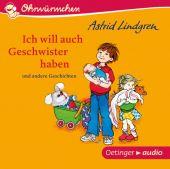 Ich will auch Geschwister haben und andere Geschichten, Lindgren, Astrid, Oetinger audio, EAN/ISBN-13: 9783837310184