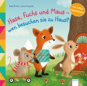 Igel, Fuchs und Maus - wen besuchen sie zu Haus?, Richert, Katja, Arena Verlag, EAN/ISBN-13: 9783401712758