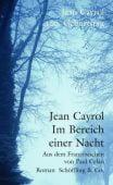 Im Bereich einer Nacht, Cayrol, Jean, Schöffling & Co. Verlagsbuchhandlung, EAN/ISBN-13: 9783895611650