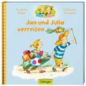 Jan und Julia verreisen, Rettich, Margret/Weber, Susanne, Verlag Friedrich Oetinger GmbH, EAN/ISBN-13: 9783789172878