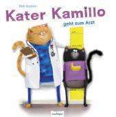 Kater Kamillo geht zum Arzt, Scotton, Rob, Esslinger Verlag J. F. Schreiber, EAN/ISBN-13: 9783480234387