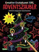Kreative Kratzkunst XXL: Adventszauber: Set mit 24 Kratzbildern, Anleitungsbuch und Holzstift, EAN/ISBN-13: 9783551187581