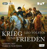 Krieg und Frieden, Tolstoi, Leo, Der Audio Verlag GmbH, EAN/ISBN-13: 9783862312993