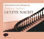 Letzte Nacht, Salter, James, Parlando GmbH, EAN/ISBN-13: 9783935125505