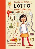 Lotto macht, was sie will!, Reich, Annika, Carl Hanser Verlag GmbH & Co.KG, EAN/ISBN-13: 9783446253070