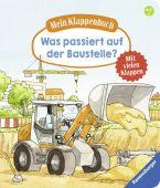 Mein Klappenbuch: Was passiert auf der Baustelle?, Gernhäuser, Susanne, Ravensburger Buchverlag, EAN/ISBN-13: 9783473437474