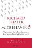 Misbehaving, Thaler, Richard, Siedler, Wolf Jobst, Verlag, EAN/ISBN-13: 9783827501202