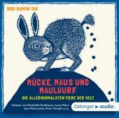 Mücke, Maus und Maulwurf, Tak, Bibi Dumon, Oetinger audio, EAN/ISBN-13: 9783837309164