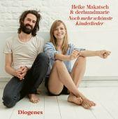 Noch mehr schönste Kinderlieder, Heike Makatsch & derhundmarie, Diogenes Verlag AG, EAN/ISBN-13: 9783257803730