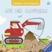 Schiebe und Entdecke: Auf der Baustelle, Grimm, Sandra, Ravensburger Buchverlag, EAN/ISBN-13: 9783473437764