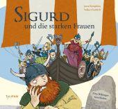 Sigurd und die starken Frauen, Nymphius, Jutta, Tulipan Verlag GmbH, EAN/ISBN-13: 9783864294419
