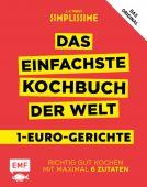 Simplissime - Das einfachste Kochbuch der Welt: 1-Euro-Gerichte, Mallet, Jean-Francois, EAN/ISBN-13: 9783960931348