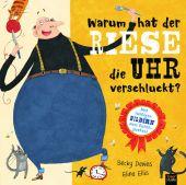 Warum hat der Riese die Uhr verschluckt?, Davies, Becky, 360 Grad Verlag GmbH, EAN/ISBN-13: 9783961855131