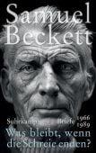 'Was bleibt, wenn die Schreie enden?', Beckett, Samuel, Suhrkamp, EAN/ISBN-13: 9783518428375