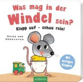 Was mag in der Windel sein? Klapp auf - schau rein!, Ars Edition, EAN/ISBN-13: 9783845826394