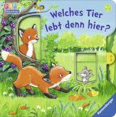 Welches Tier lebt denn hier?, Penners, Bernd, Ravensburger Buchverlag, EAN/ISBN-13: 9783473436521