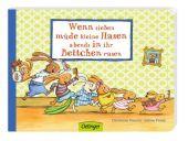 Wenn sieben müde kleine Hasen abends in ihr Bettchen rasen, Praml, Sabine, EAN/ISBN-13: 9783789166457