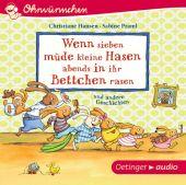Wenn sieben müde kleine Hasen abends in ihr Bettchen rasen und andere Geschichten (CD), EAN/ISBN-13: 9783837309829