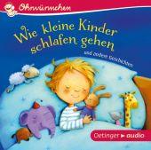 Wie kleine Kinder schlafen gehen und andere Geschichten, Oetinger audio, EAN/ISBN-13: 9783837310191