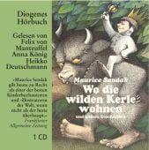 Wo die wilden Kerle wohnen, Sendak, Maurice, Diogenes Verlag AG, EAN/ISBN-13: 9783257802863