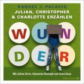 Wunder - Julian, Christopher und Charlotte erzählen, Palacio, R J, Silberfisch, EAN/ISBN-13: 9783867427937