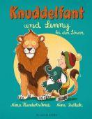 Knuddelfant und Lenny bei den Löwen