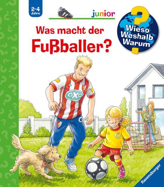 Nieländer, Peter: Was macht der Fußballer?