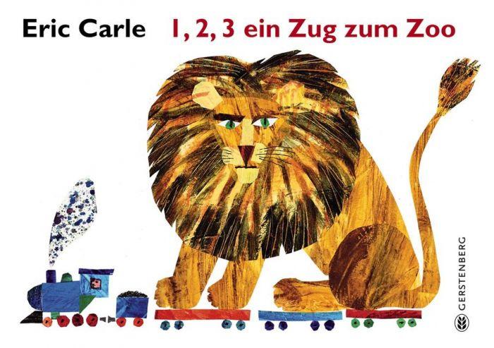 Carle, Eric: 1,2,3 ein Zug zum Zoo