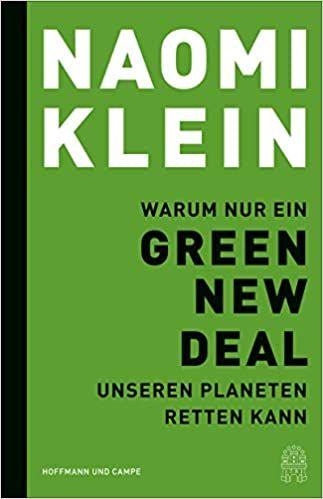 Klein, Naomi: Green New Deal