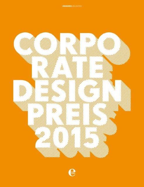 AwardsUnlimited Odo-Ekke Bingel/Tom Leifer Design: Corporate Design Preis 2015